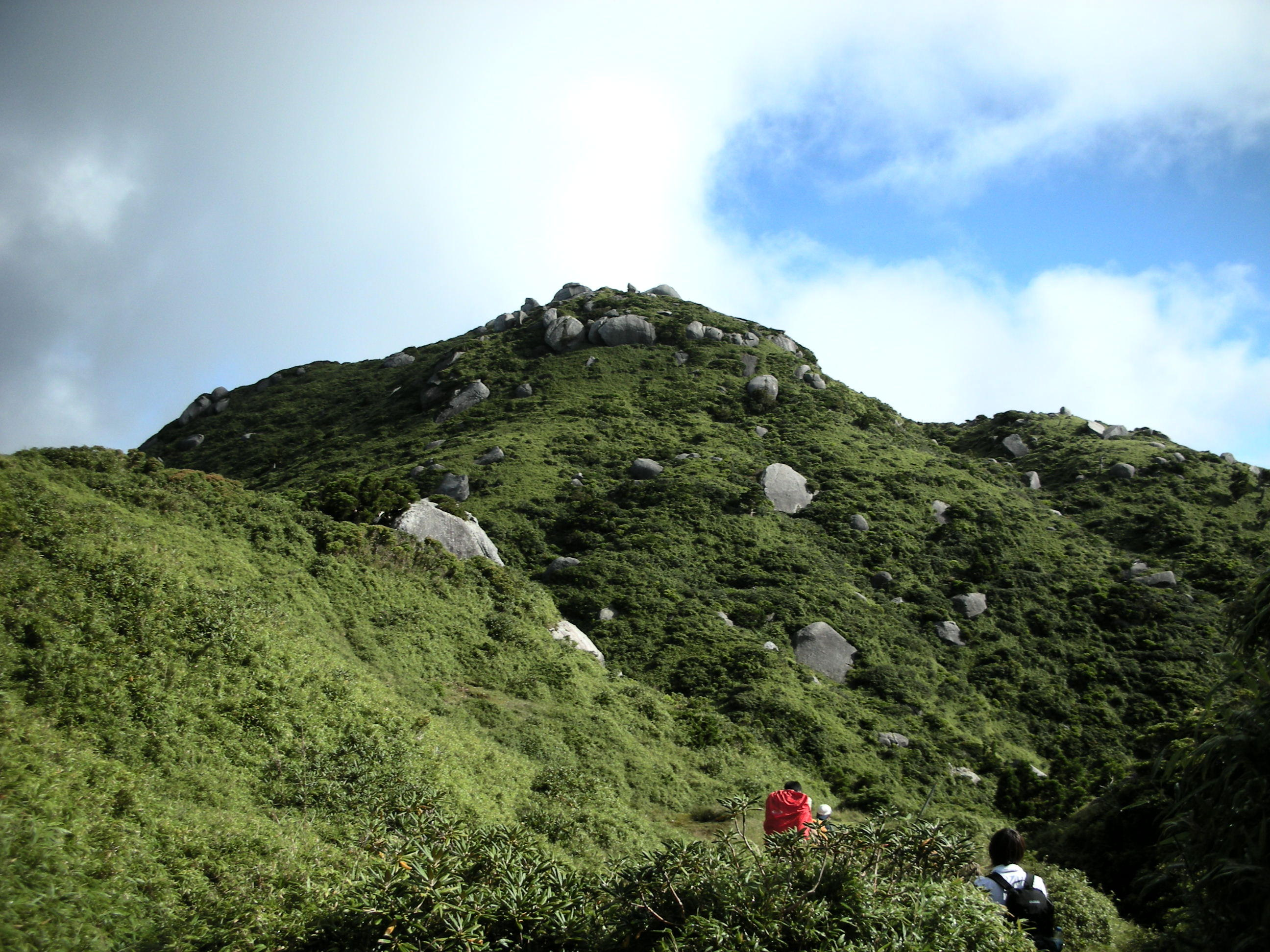 九州で一番高い山