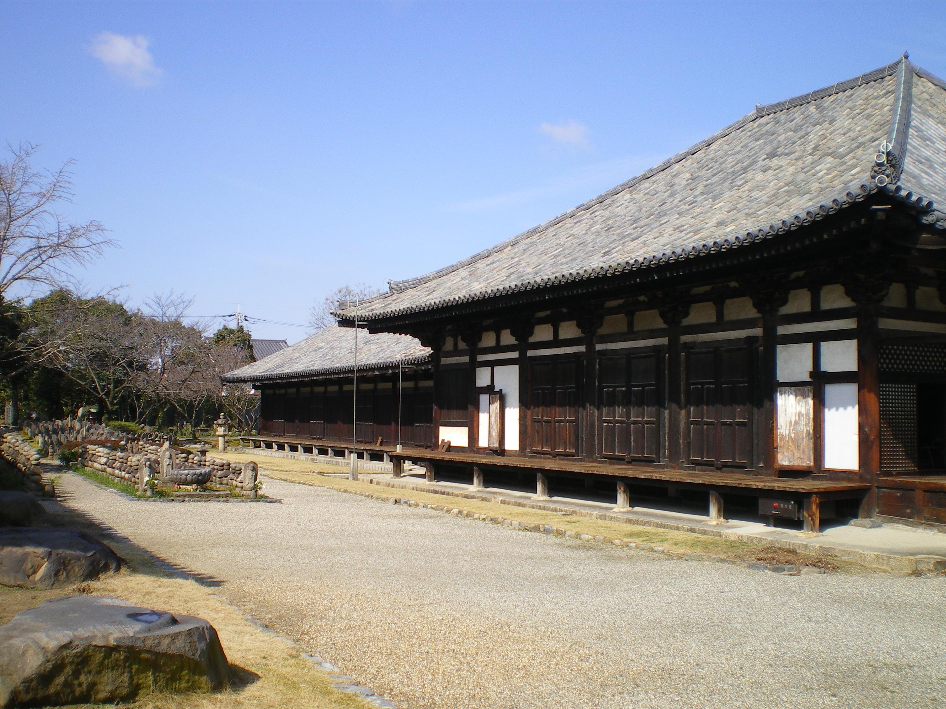 元興寺 奈良の世界遺産のひとつ