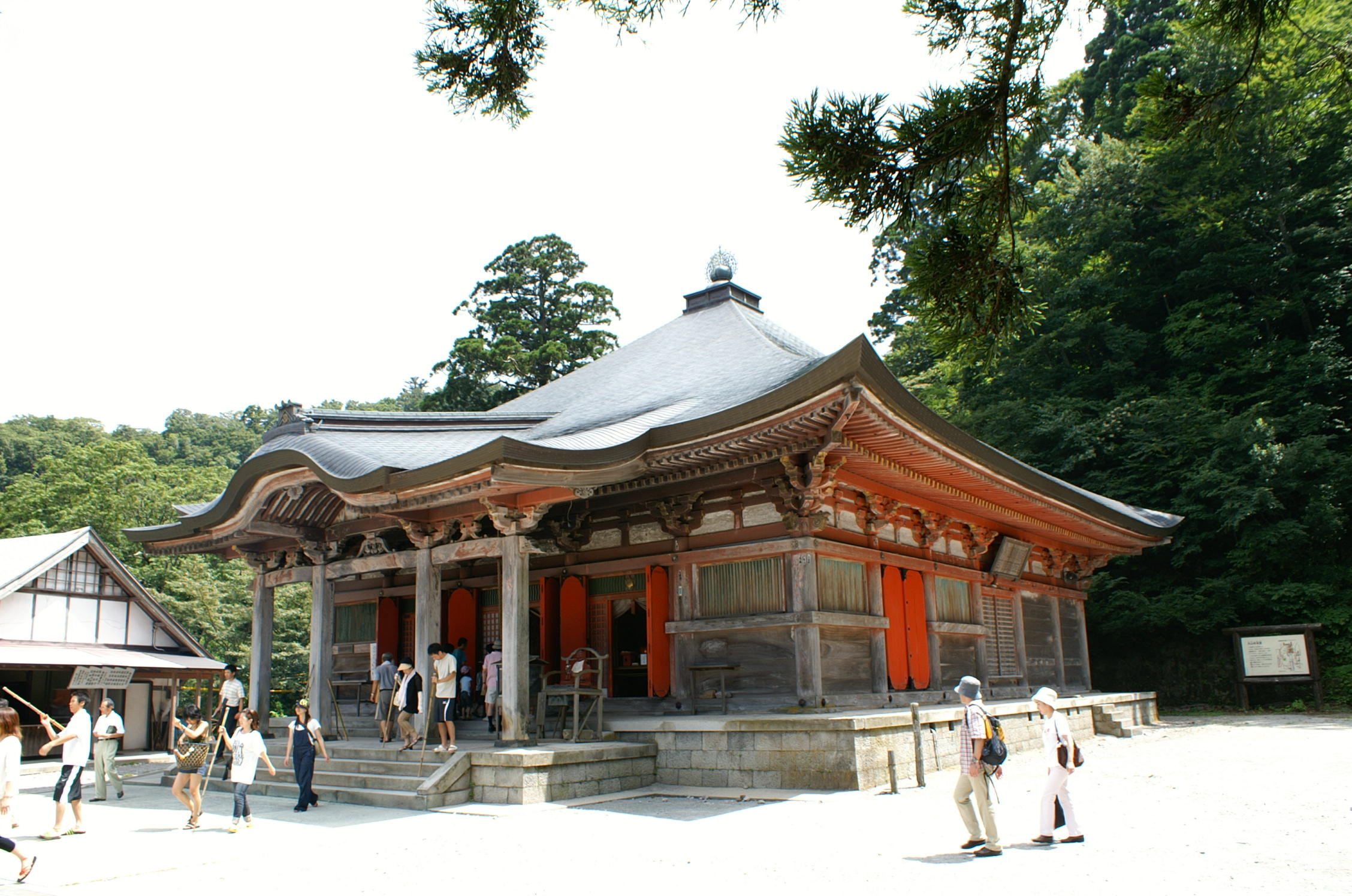 霊験のある大山寺