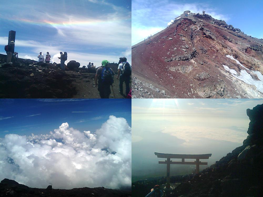 吉田口からの富士登山(河口湖口)