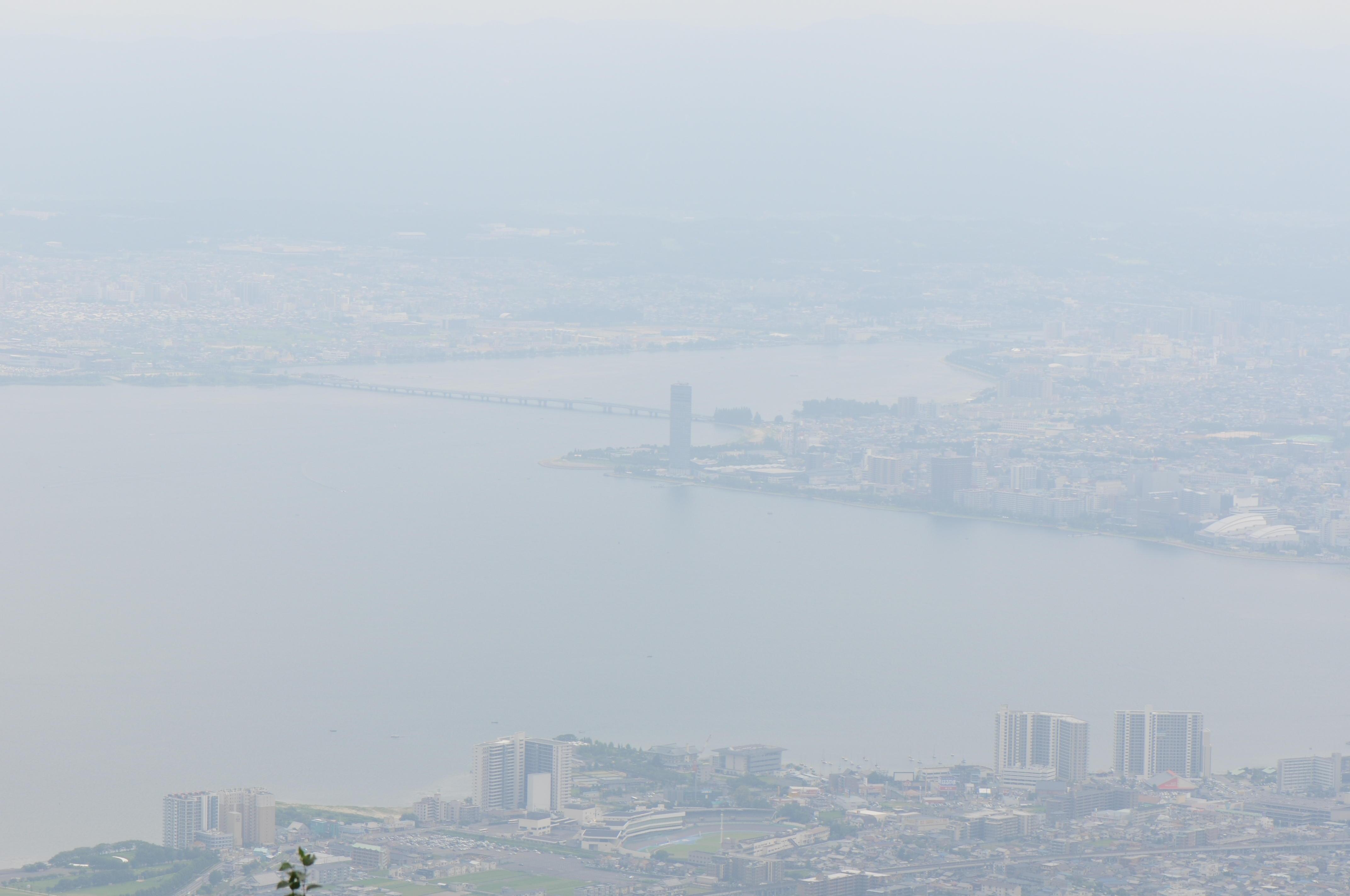 琵琶湖が望めました