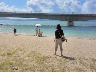 景色もビーチも最高!