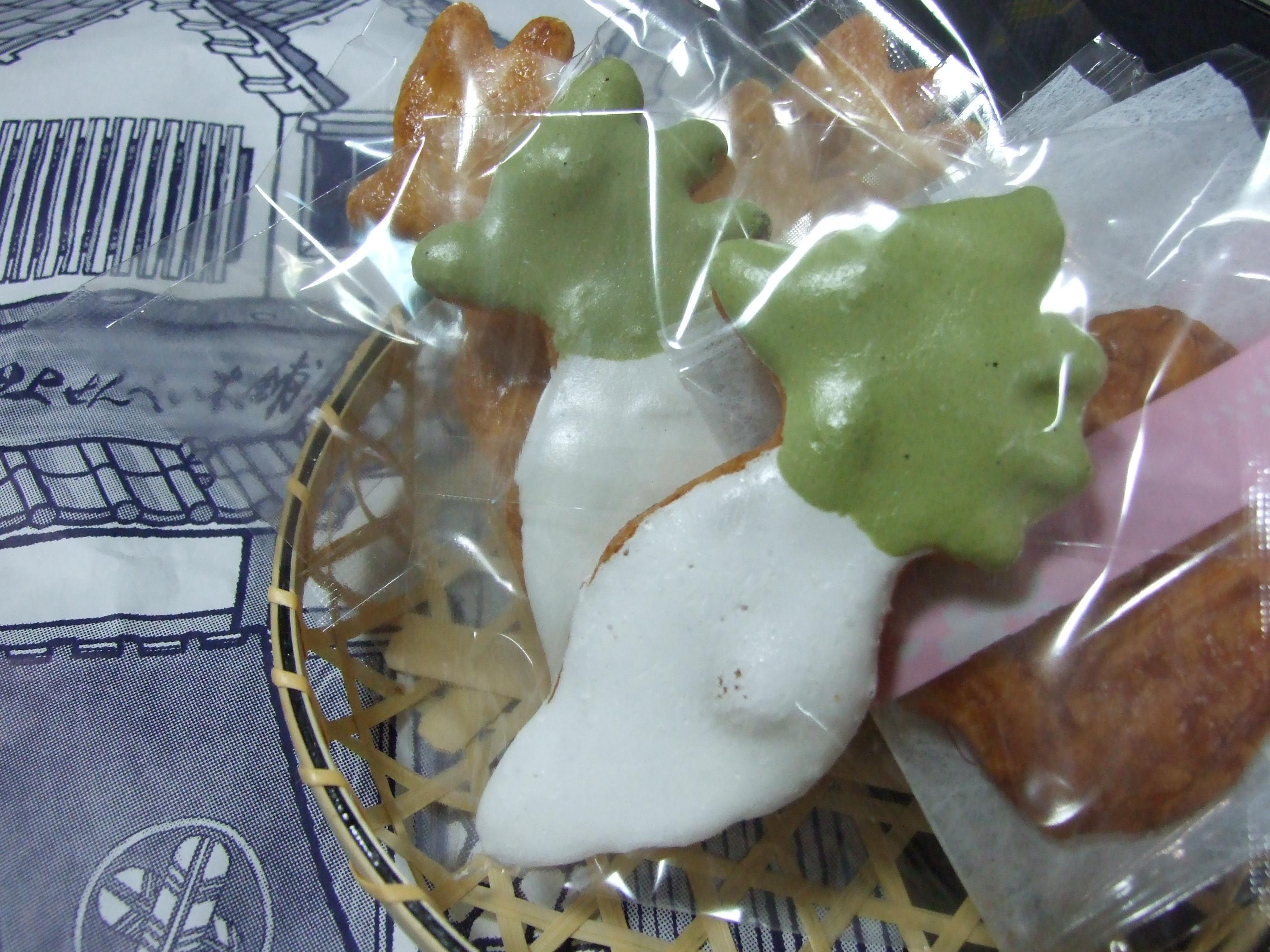 お土産シリーズ(亀戸)おしあげ煎餅