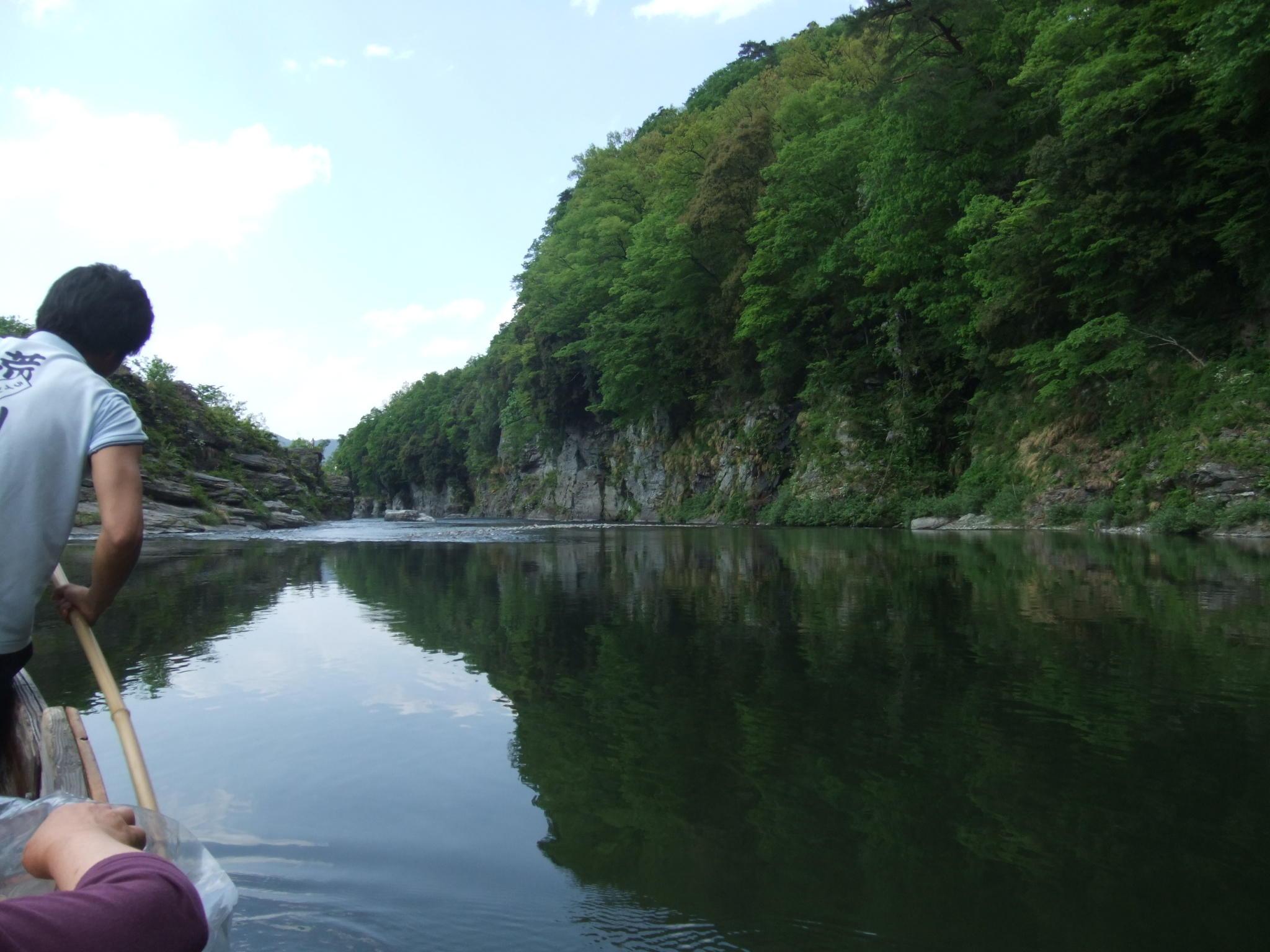 ゆったりのんびり川下り
