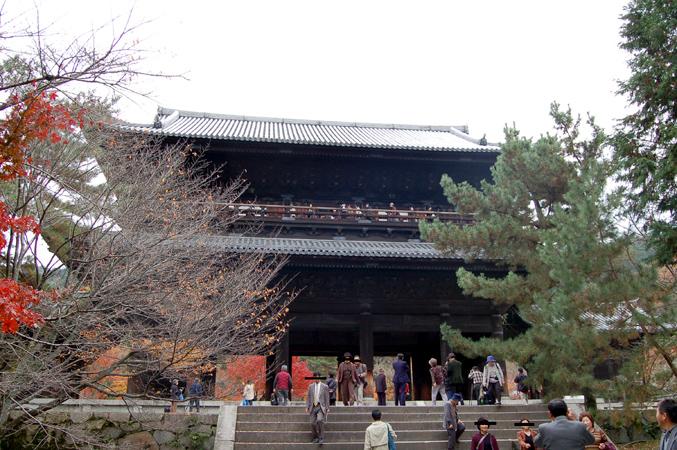 南禅寺三門で「絶景かな?」