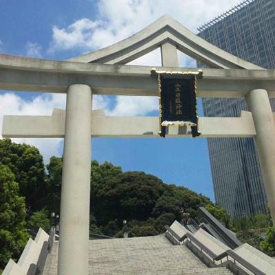 夏の日枝神社