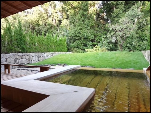 赤沢迎賓館 一階「ふじ」の露天風呂