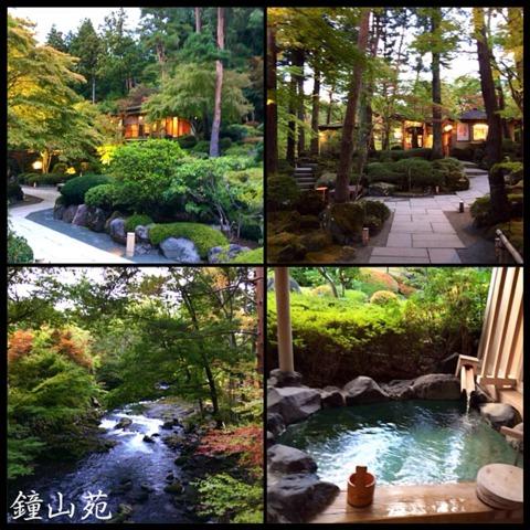 ホテル鐘山苑 ゆらく山彦亭の露天風呂付きのお部屋がおすすめです