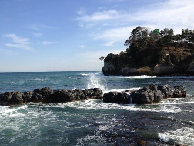五浦観光ホテル 六角堂からの景色