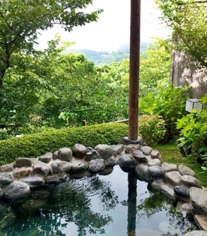 伊豆に創癒の隠れ郷水生の庄 「豊水」の部屋付き露天風呂