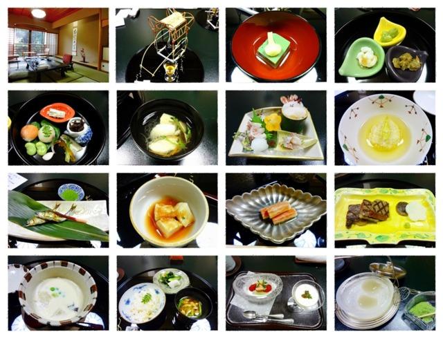 海石榴つばき 2013年4月来訪時の夕食