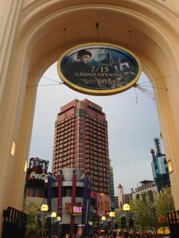 ホテル近鉄ユニバーサル・シティ ユニバーサルスタジオから1番近いホテルでした