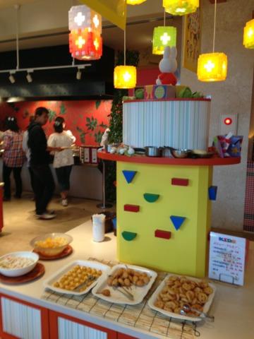 三井ガーデンホテルプラナ東京ベイ キッズブッフェもありました。