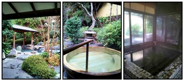 熱海 三平荘 それぞれに趣の異なるお風呂