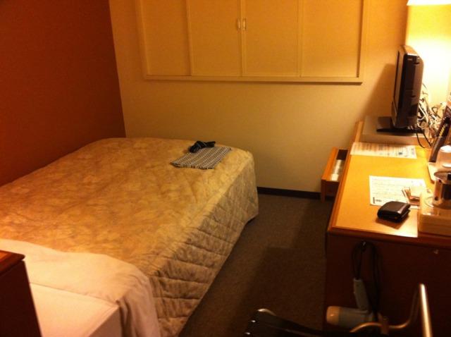 プラザホテル 古川 お部屋はちよっと小さめでしたが、きれいでした。