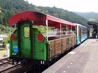 元祖・トロッコ列車