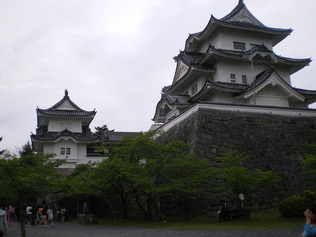 映画「影武者」のロケにも使われた上野城