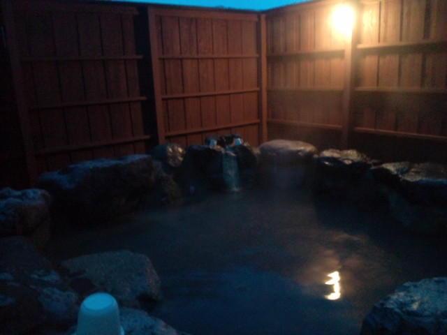 小野川の共同露天風呂