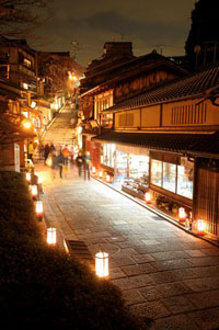 京都東山 花灯路