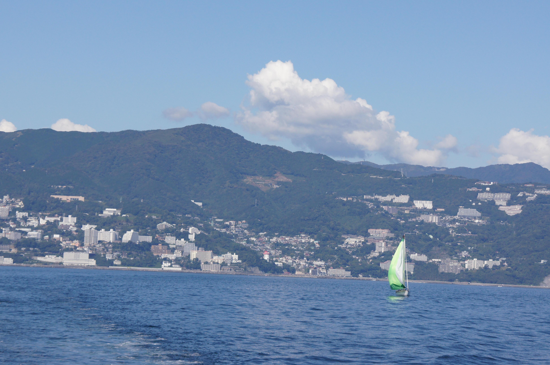 初島は、お年寄りに優しい観光スポットに。