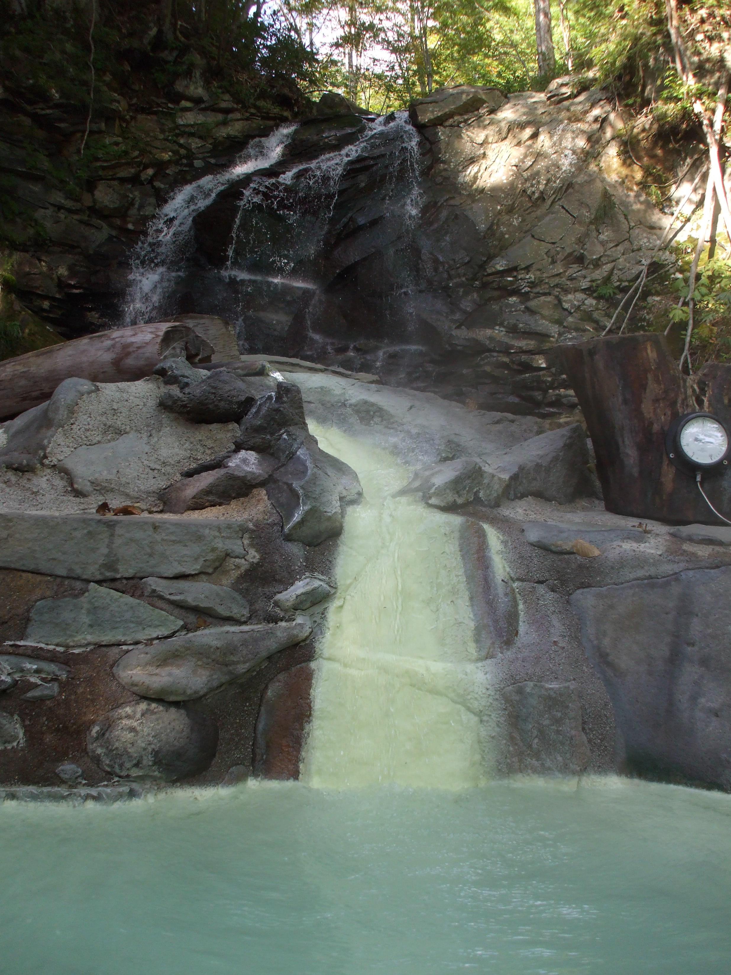 網張温泉の秘湯 混浴露天