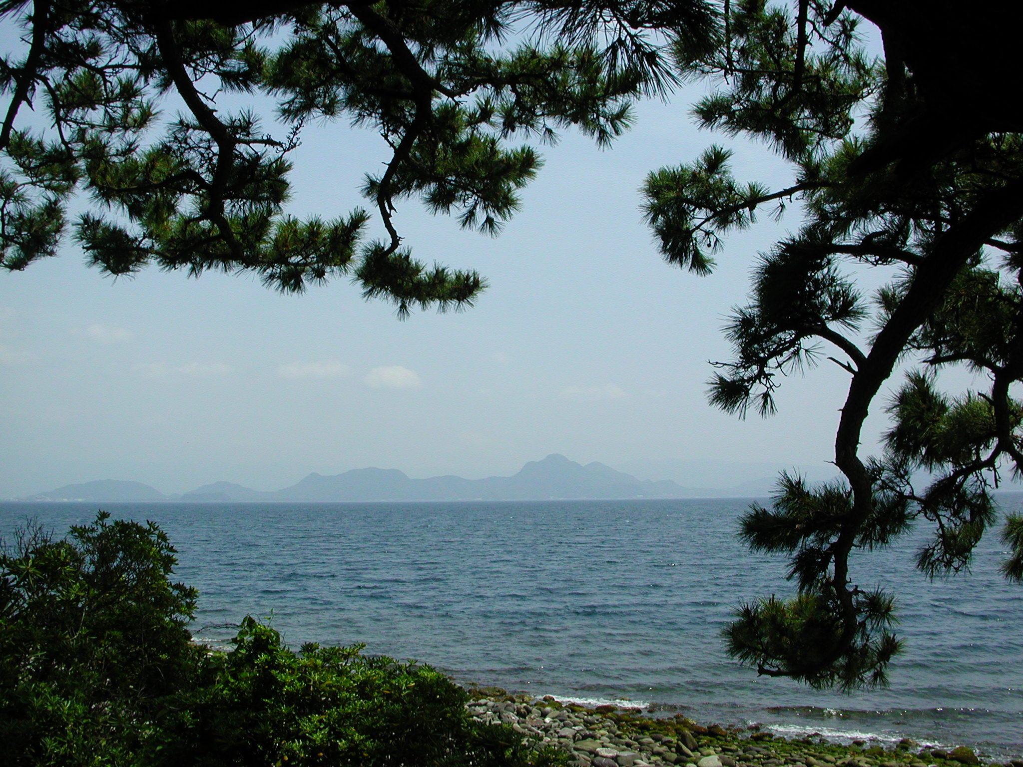 〜静かに海と富士山を眺めるのに最高の場所かも〜