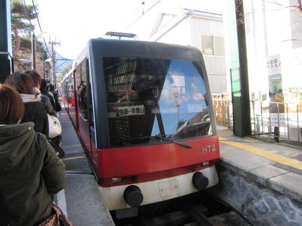 関東最古のケーブルカー