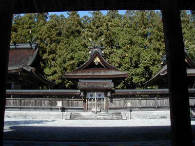誓いの神社