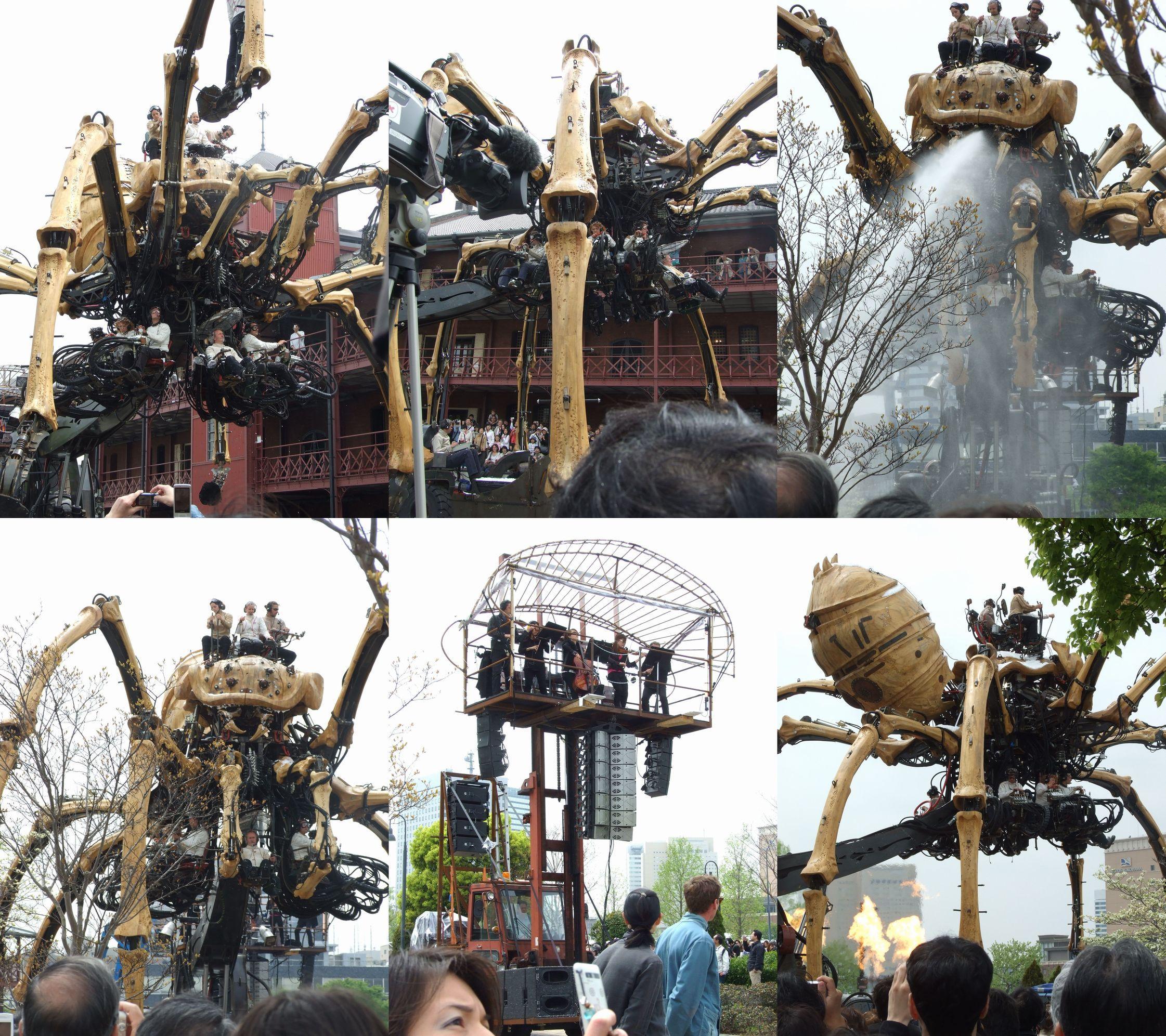 ラ・マシンの巨大蜘蛛
