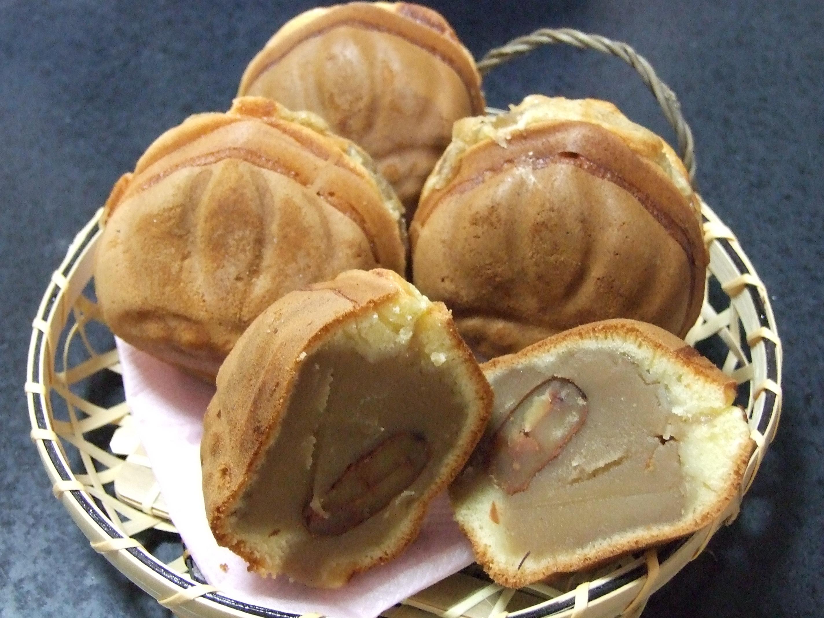 東武デパートで見かけた小布施栗菓製造の栗福