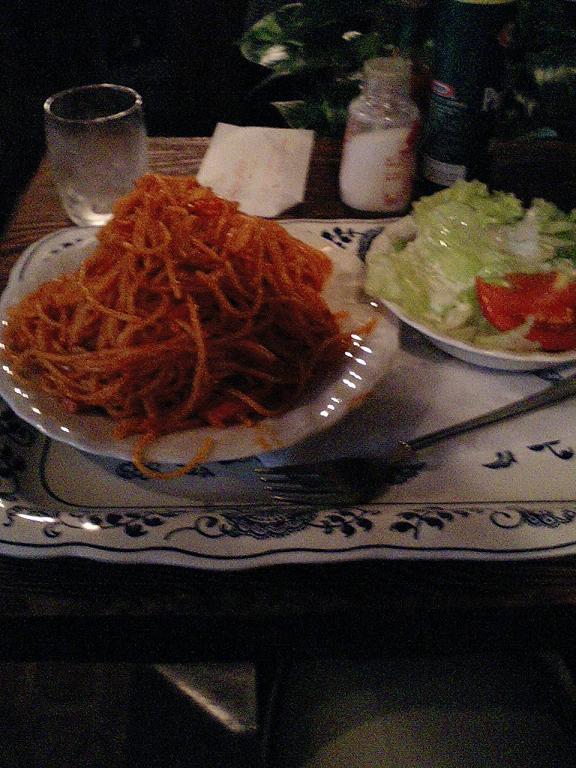 さぼうるのスパゲティ