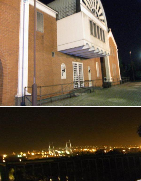 夜の港の見える丘公園は