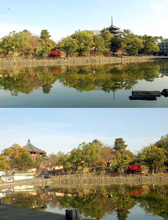 神秘的な美しい池