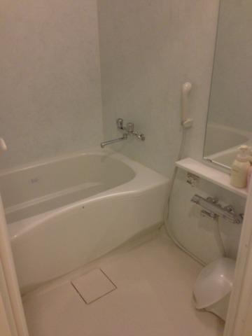 三井ガーデンホテルプラナ東京ベイ バスルームには洗い場があり小さなお子さんが居ても安心
