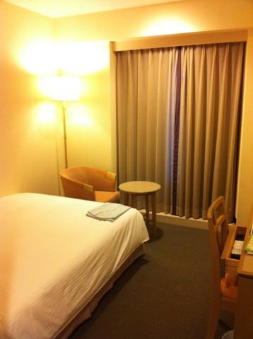 ホテルJALシティ長野 お部屋。1人だったので、広さも十分。綺麗で快適でした。