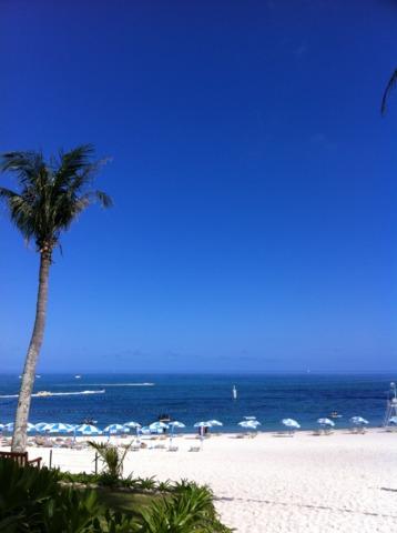 ムーンビーチパレスホテル ムーンビーチとても綺麗でした♪( ´▽`)