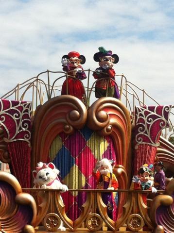 東京ディズニーシー・ホテルミラコスタ(R) ディズニーシーのハロウィンショー ミッキー&ミニーが可愛い。