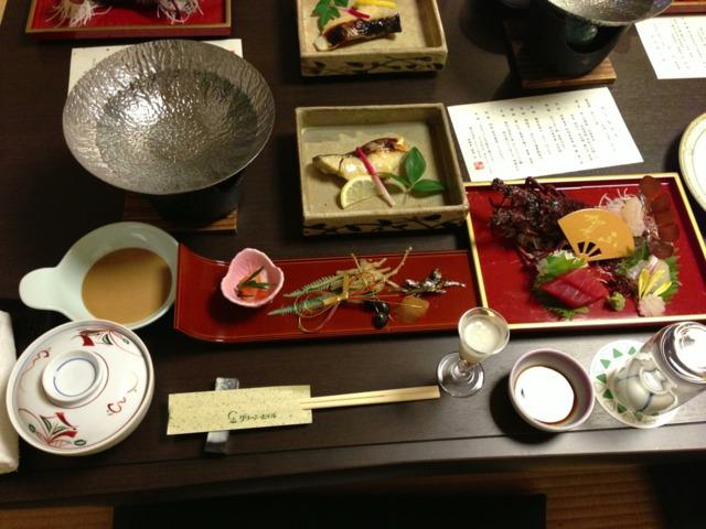 グリーンホテル 料理がとても美味しかった!