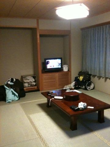 ニセコパークホテル ザ・スキー宿といった和室の客室。グループでリーズナブルに泊まれます。