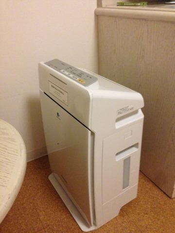 三井ガーデンホテルプラナ東京ベイ 加湿器&空気清浄機があり良かった。乾きがちな部屋が潤う。