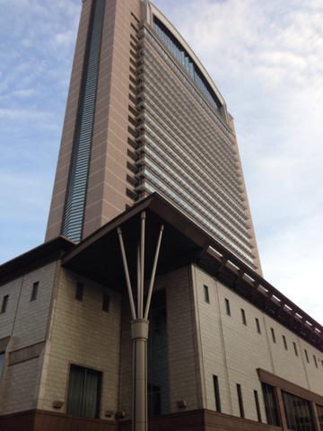 ホテル京阪ユニバーサル・タワー 公式ホテルでは1番の高さ