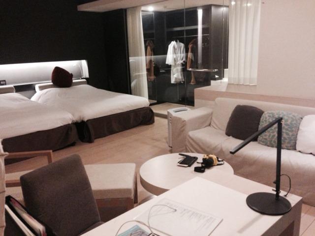 杉乃井ホテル本館 グレースフロア モダンな作りでゆったりと寛げた。