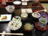 五浦観光ホテル 朝御飯 若布ご飯